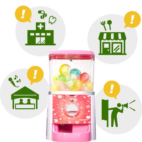 マシンを売込むのでなく、売上UPという価値を提案する営業。遊び心を発揮し楽しい提案を。